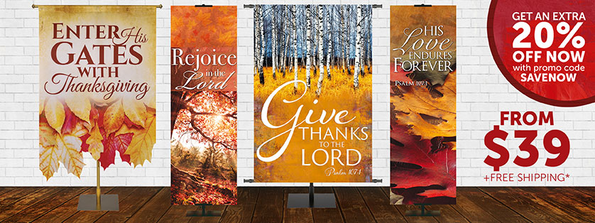 Church Banners for Thanksgiving